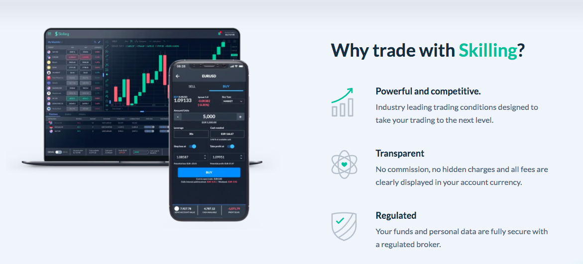 Skilling online trading review
